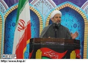 حجت الاسلام منصور فرجی مدیر حوزه علمیه كاشان